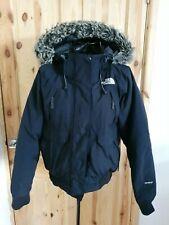 The North Face Gotham Hyvent Furry hooded womens Jacket sz Medium ~ Goose down