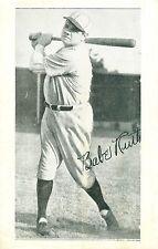 9/30 1934 Babe Ruth final game giveaway honor F. Roosevelt  em