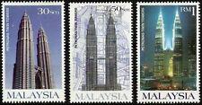 Petronas Twin Tower Malaysia 1999 Building Tourist Architecture (stamp) MNH