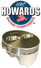 """Howards Cams 840412305 SBC Chevy 383 Flat Top Forged Pistons 3.750 Stroke 6"""" Rod"""