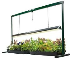 Greenhouse 4 Ft Grow Light Kit Pot Seed Starter Garden Garage Weed Plant System