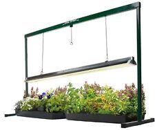 Greenhouse 4 Ft Grow Light Kit Pot Seed Starter Garden Garage Weed Plant System
