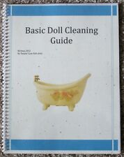 Doll Cleaning guide book - includes Color Photos