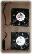 Fan, 60 x 60 x 25mm, 12VDC, 6800 RPM (Delta #AFB0612EH) (Lot/2) (New)