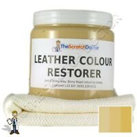CREAM Leather Dye Colour Restorer for VOLVO Leather Car Interiors, Seats,