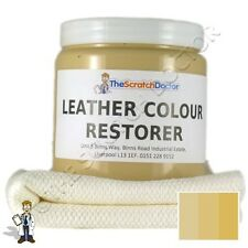 CREAM Leather Dye Colour Restorer for  LAND ROVER Leather Car Interiors, Seats,