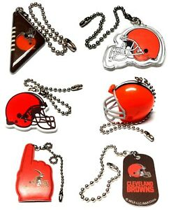 """CLEVELAND BROWNS NFL FOOTBALL LIGHT LAMP PULL 6"""" CHAIN EASY CONNECTOR YOU PICK"""