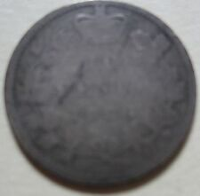 1886 Canada Silver Ten Cents Coin (KEY DATE Dime T918)