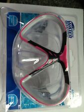 Adult Swim Mask with Adjustable Head Strap PolyCarbonated Lenses Color: Pink