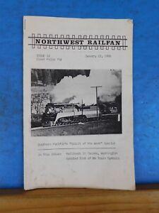 Northwest Railfan #16  January 12, 1988  Tacoma, Washington