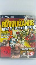 PS3 Borderlands Game of the Year Sony Playstation PS 3 Spiel mit Anleitung