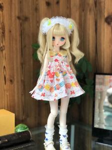1/6 1/4 1/3 BJD Clothes Doll Outfit Sweetmeats Princess Dress+Headwear Sweet