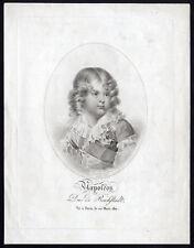 Antique Print-PORTRAIT-NAPOLEON FRANCOIS-CHARLES JOSEPH BONAPARTE-Isabey-1820
