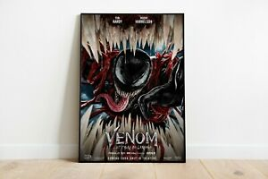 Venom Let There be Carnage Movie Poster Print Wall Art Maxi Marvel Films 1930