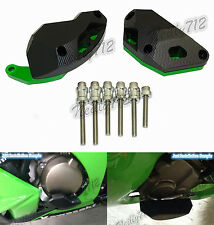 Verde Motore Copertura Sliders Protezione Per 2011-2017 KAWASAKI Ninja ZX-10R