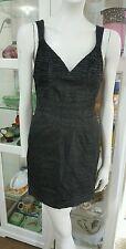 Manning Cartell dress.Sz10.Linen blend.Italian fabric.As new condition