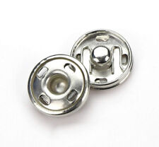 18 Stück Druckknöpfe Metall 16 mm Metall zum annähen Nähen Knöpfe Druckknöpf