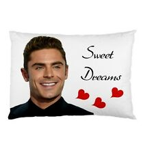 ZAC EFRON SWEET DREAMS bed pillow slip cushion case COVER 124843086