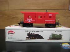 Ho Santa Fe 36' Bay Window Red Caboose By Model Power Santa Fe #8241