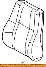 Jeep CHRYSLER OEM Front Seat-Cushion Cover-Top Back Right 1BF961D1AA
