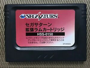 Sega Saturn SS Expansion Ram Cartridge HSS-0150 - Japan Import Fully Working