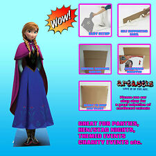 Anna Disney Frozen LIFESIZE CARDBOARD CUTOUT standee standup New Disney Princess