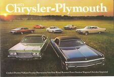 1973 Chrysler-Plymouth Brochure Cuda/Duster/Road Runner