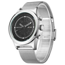 WEIDE WH7305 Quartz Digital Watch Dual Time Date Week Alarm Stopwatches L6H3