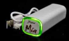 Freixenet Mia, PowerBank, Zusatzakku 2600mAh USB weiß