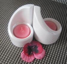 PartyLite Teelichthalter **Bianco** ++Neu/Ovp++ und 2 Teelichter