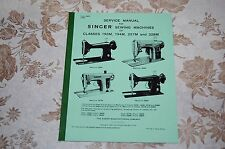 Professional Service Manual for Singer 193M 194M 227M 228M 285J Sewing Machines.