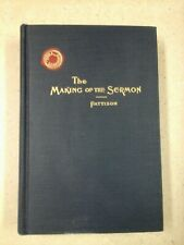 Making of the Sermon by T. Harwood Pattison (1941, Hardcover)