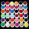 36pcs Mix Colors Pots Cover UV Nail Art Gel Tips Builder Manicure Decor Set Hot