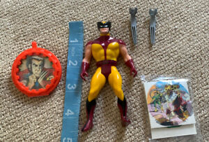 1984 Mattel Secret Wars Wolverine Marvel Comics Figure Claws Complete World Ship