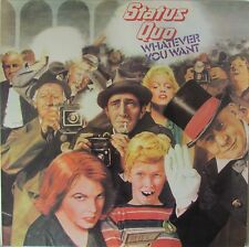 STATUS QUO Whatever You Want 10 Track LP Made In Portugal A1 B1 Matrix
