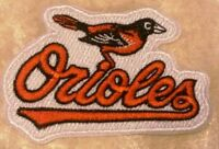 """Baltimore Orioles Name 3.25"""" Iron /Sew On Embroidered Patch~FREE SHIP!~"""