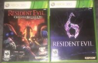 Resident Evil 6 & Operation Raccoon City -- Special Edition GAME LOT