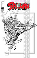 SPAWN #310 TODD McFARLANE B/W SKETCH NINJA COVER D VARIANT COMIC BOOK NEW 1 NM 2