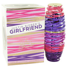 Girlfriend by Justin Bieber 3.4 oz EDP Spray Perfume for Women New in Box
