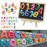 26Pcs Alphabet Number Letter Wooden Fridge Magnet Educational Kids Baby Toys