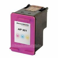 Reman CC656AN for HP 901 Tri-COLOR Ink Print Cartridge OfficeJet J4580 4500 G510