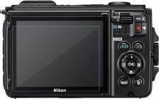 3x Nikon Coolpix W300 película protectora de pantalla de vidrio de protección