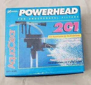 AquaClear 20 Powerhead 201 NEW