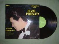 ELVIS PRESLEY C'MON EVERYODY LP (EX) 1971 (RCA INTS1286)