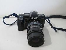 Minolta Maxxum 7000 35mm Camera Body & AF 28-85 Zoom Lens Gray Profoto Bag