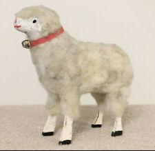 Replica Folk Art Wooly Lamb Sheep Putz Christmas Figure Toy #15