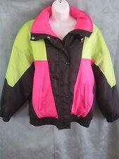 Black Ice Gortex Thermolite Hooded Ski Jacket Size Medium