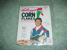 1992 Winter Olympics Dan Jansen USA Speed Skating Kellogg's Corn Flakes Box