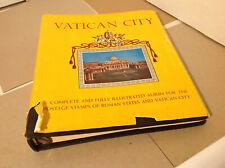 Minkus Stamp Album Vatican City 1960 ed. 1852-1961 w/Original Dust Jacket   8