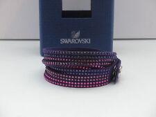 Swarovski Slake Purple Lila Armband Bracelet Bracciale 5021027